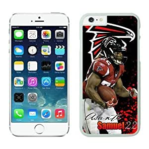 NFL Case Cover For SamSung Galaxy S4 Atlanta Falcons Asante Samuel White Case Cover For SamSung Galaxy S4 Cell Phone Case ONXTWKHB0137