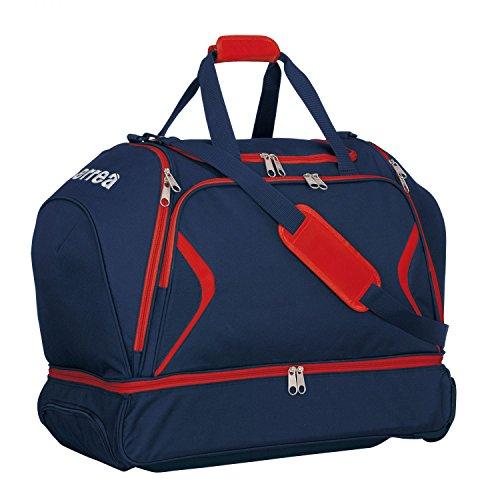 LUTHER TROL Reisetasche extragroß · UNIVERSAL Reise-Trolley mit Bodenfach Größe ONESIZE, Farbe marineblau-rot, Farbe marineblau - rot