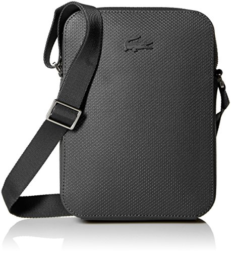 Lacoste Men's Chantaco Vertical Camera Bag,Black