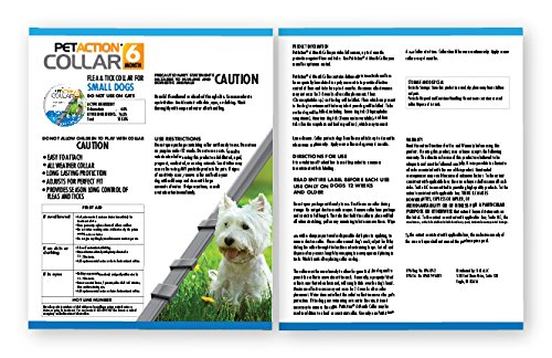 Pet Action Six Month Collar Fleas Ticks, Small Dogs, 2 Pack by Pet Action (Image #4)