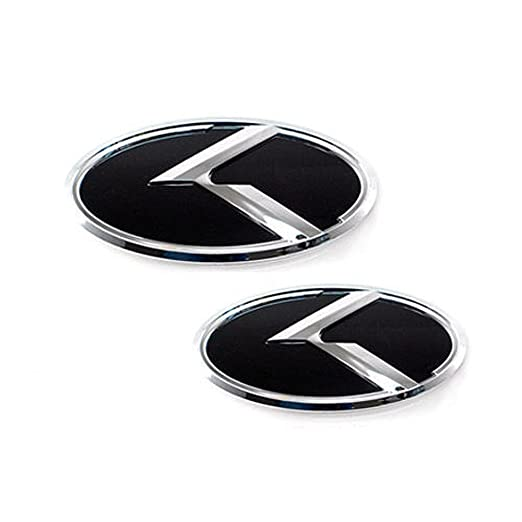 Amazon Front Rear K Emblem For 2017 2018 Kia Sportage Automotive