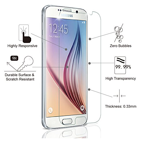 WEZL olixar samsung galaxy s6 front back screen protector pack non-prosecution agreement