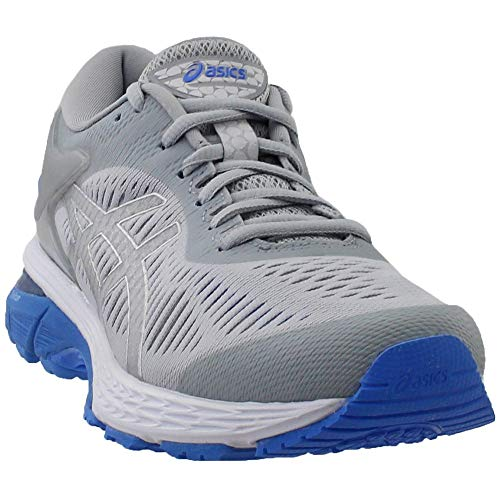 bc878db32ff7a9 ASICS Gel-Kayano 25 Women's Shoe, Mid Grey/Blue Coast, ...