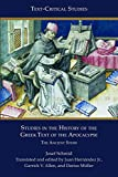 Studies in the History of the Greek Text of the