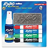 Expo 6-Piece Low Odor Dry Erase Marker Starter Kit(80653), Office Central