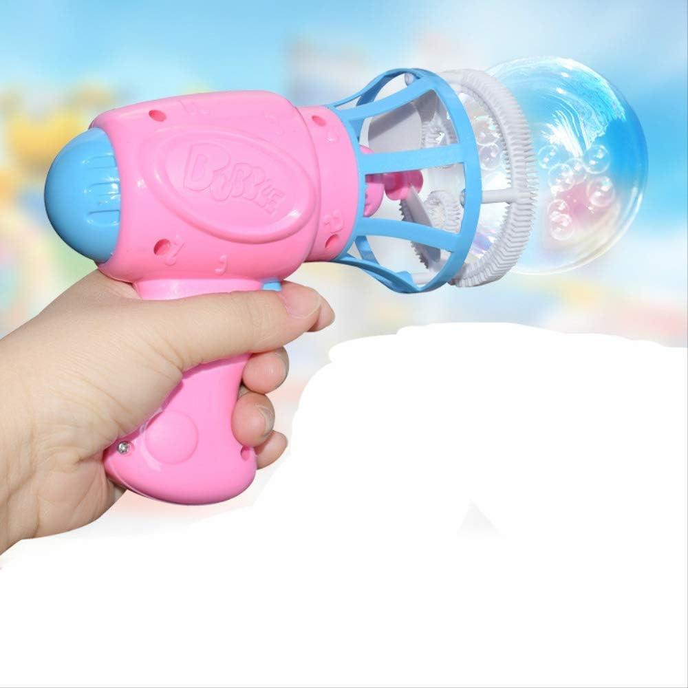CPSTM Máquina De Burbujas Niños Big Bubble Guantes Ventilador Eléctrico Pistola De Burbujas Totalmente Automático Soplar Burbujas Juguetes De Agua