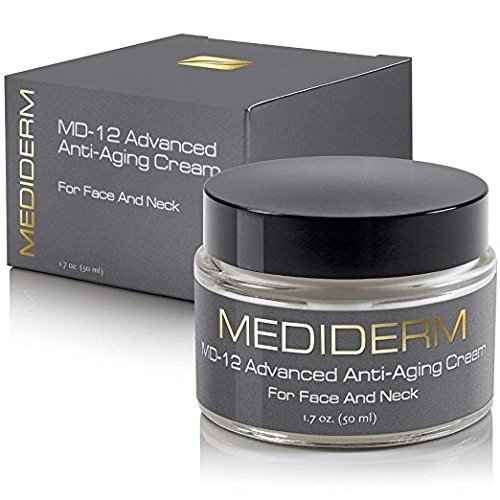 Wrinkle Cream - Anti Aging Face Cream. Best Wrinkle Creams That Really Work For Face and Neck Crepe Erase, Great for Men and Women by Mediderm