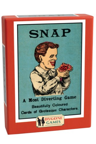 Cheatwell Games Bygone Days Snap Card Game (Happy Family Card Game)