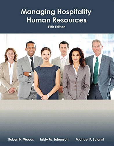 Managing Hospitality Human Resources with Answer Sheet (AHLEI) & Managing Hospitality Human Resources Online Compone