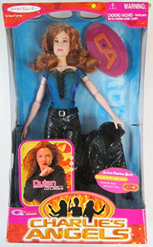 Jakks Pacific Charlie's Angels Dylan Drew Barrymore Doll Figure - Charlie Angel Halloween Costumes