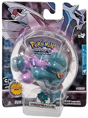 Pokemon: Diamond And Pearl Series 4 Basic Misdreavus Action Figure