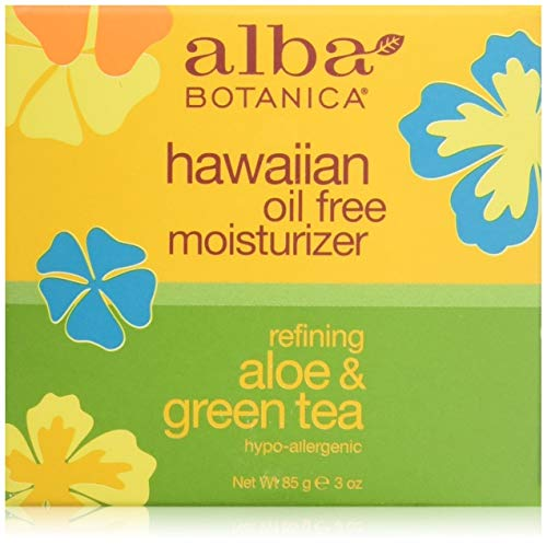 Alba Botanica Refining Aloe & Green Tea Hawaiian Oil-Free Moisturizer, 3 oz.