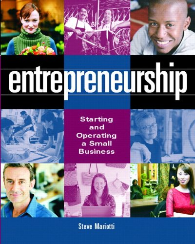Entrepreneurship: Starting and Operating a Small Business w/ BizBuilder CD & Business Plan Pro Pkg.