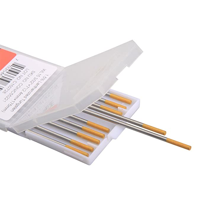 Weldflame 10-pk 1.5% Lanthanated (Gold) 1/8