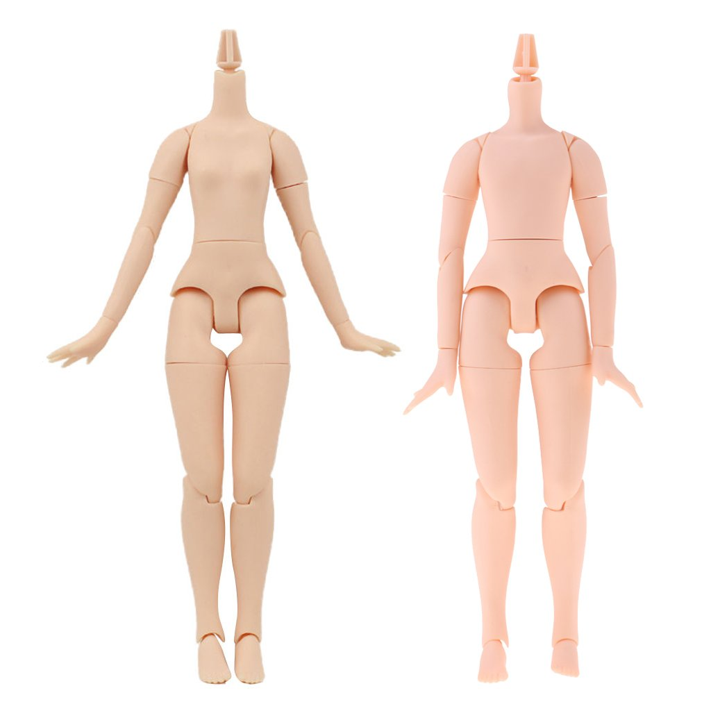Dolity 20-Articolazioni Corpo Umano Uso Personale Bambini Giocattolo Doll Plastica