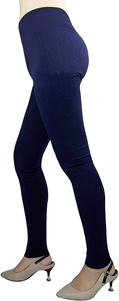 3 Pack Womens Thermal Underwear Base Layer Fleece Lined Compression Pants Leggings