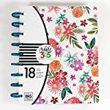 Create 365 18 Month Happy Planner, 2017-2018 CLASSIC (7.75in X 9.75in) Happy Planner, Dated July 2017-December 2018 Happy Mind Happy Life, Personalized Planner