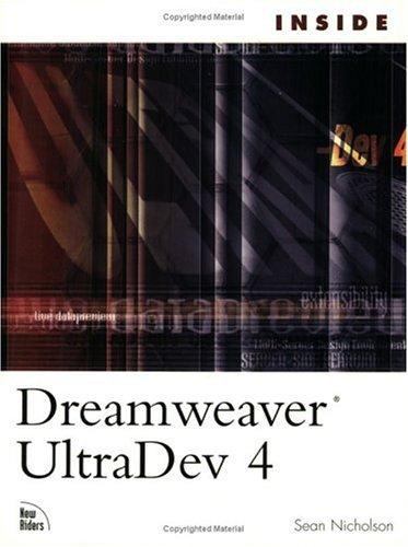 Inside Dreamweaver UltraDev 4
