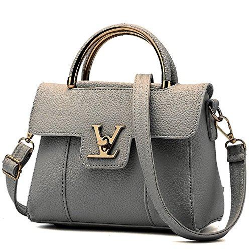 KVNHTY&NC Schulterdiagonale kleine Tasche Handtasche Umhängetasche Dark Gray 5Nh0m1MCz5