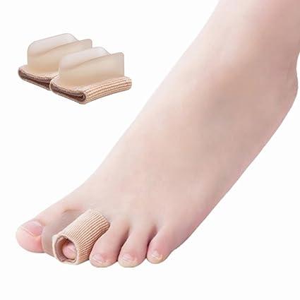 SOFIT 1 par Gel Separador de Dedos juanete del Pie, Protector de dedos, Silicona