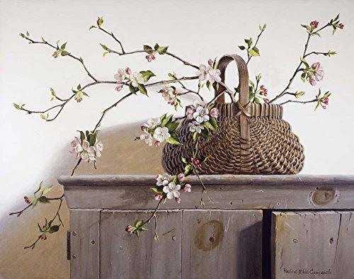 Apple Blossoms by Pauline Eble Campanelli Art Print, 27 x 21 inches