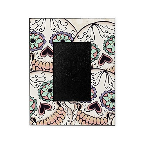 CafePress - Day of The Dead Flip Flops - Decorative 8x10 Picture Frame ()