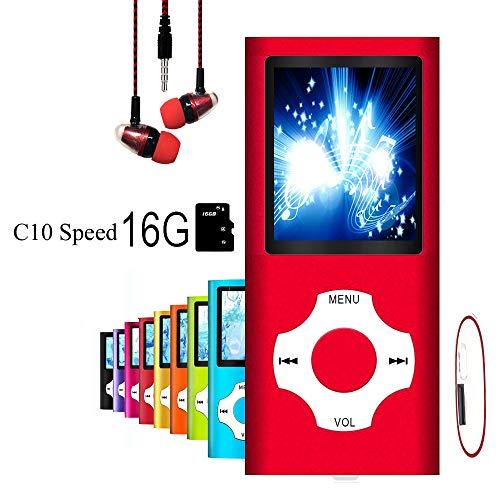 "MP3 Player / MP4 Player, MP3 Music Player, Mini USB Port 16GB Memory Slim Classic Digital LCD 1.82"" Screen MP3 Music/Audio/Media Player with FM Radio, Voice Record"