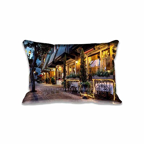 16x24inch Pillow Protector Restaurant near Sofia Hotel Pillow Cover Home Decorative Kids Gift Pillow Cushion Cover(Twin Sides)