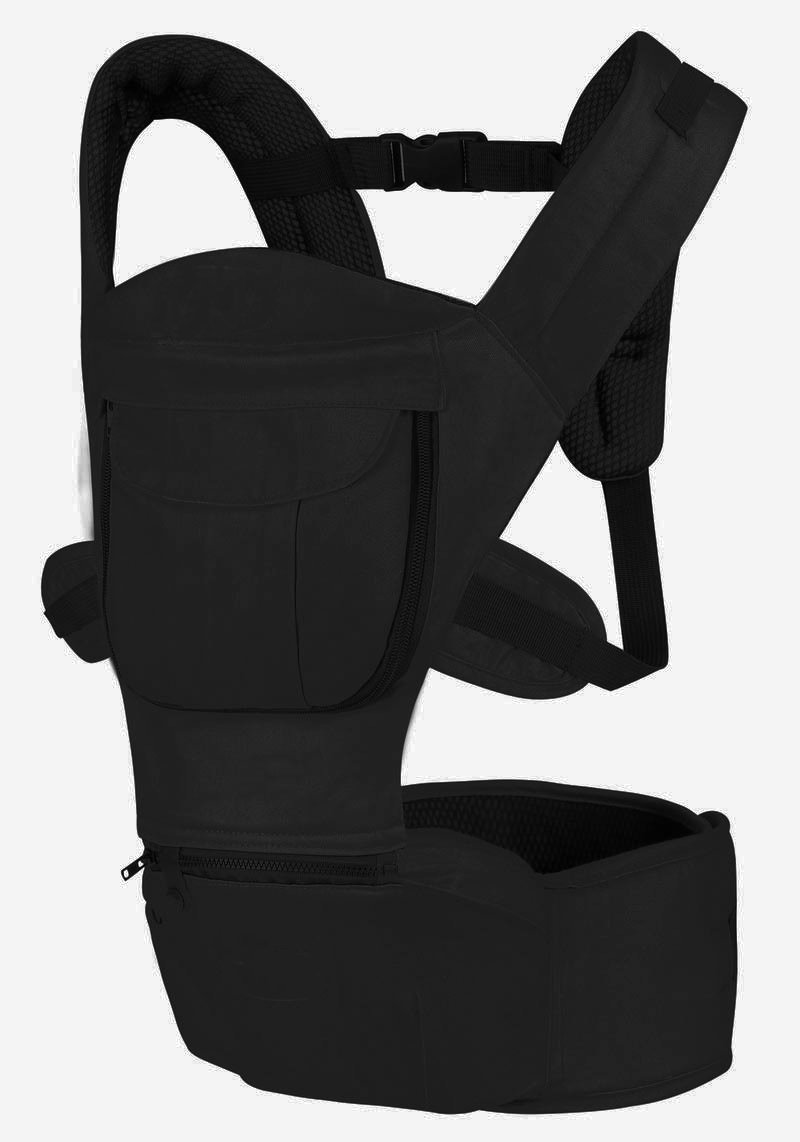 Baby and Child Carrier, Multifunctional Front and Back Carrier, Ergonomic Design, Black by DURSHANI