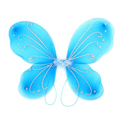 Fdrirect Beautiful Elf Fairy Wing Butterfly Wings DIY Gift Photo Props 4231cm New ()