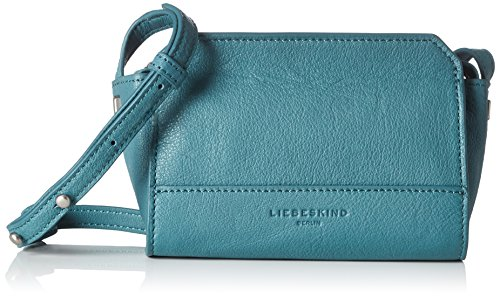 Moss Berlin Double Crossbody Mini Women's Hollywood Dye Liebeskind Leather Structured Green qdWtzCwqA4