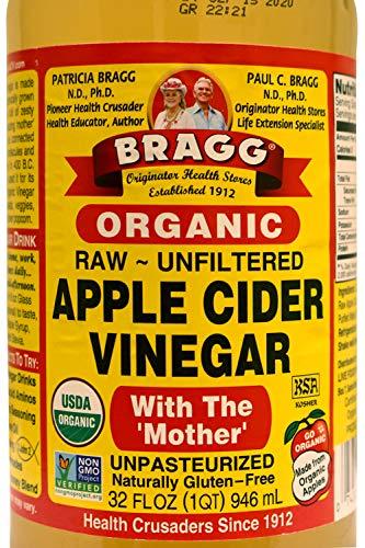 Bragg Organic Raw Unfiltered Apple Cider Vinegar, 32 fl.oz
