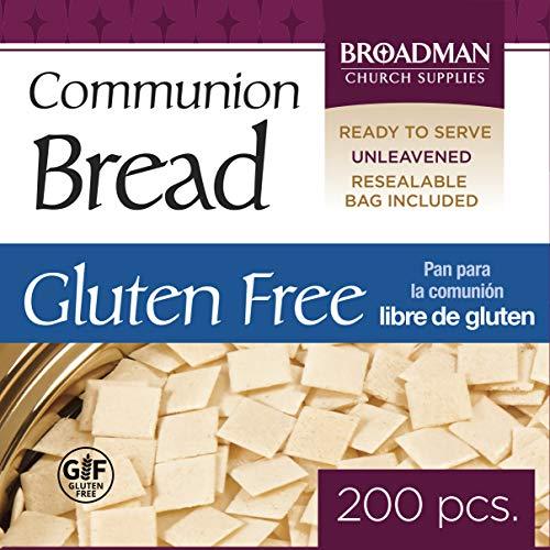 Broadman Church Supplies Staff Communion Bread - Gluten Free - Pkg/200