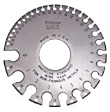Mitutoyo 950-202, American Standard Wire Gage for 0-36 Gage Non-Ferrous Wire