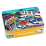 Mudpuppy Classic Cars 100 PC Puzzle Tin