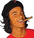 Béret Che Guevara avec cheveux