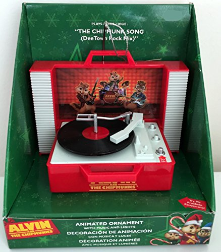 Alvin and The Chipmunks Animated Ornament with Music and Lights