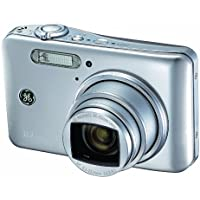 GE E1250TW-SL 12MP Digital Camera with 5X Optical Zoom and 3.0 Inch LCD with Auto Brightness - Silver Key Pieces Review Image