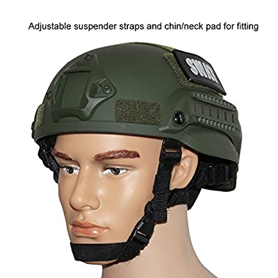 OneTigris MICH 2002 Action Version Tactical Helmet ABS Helmet for Airsoft Paintball