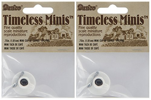 Timeless Miniatures-Cup Of Coffee - 2-PACK