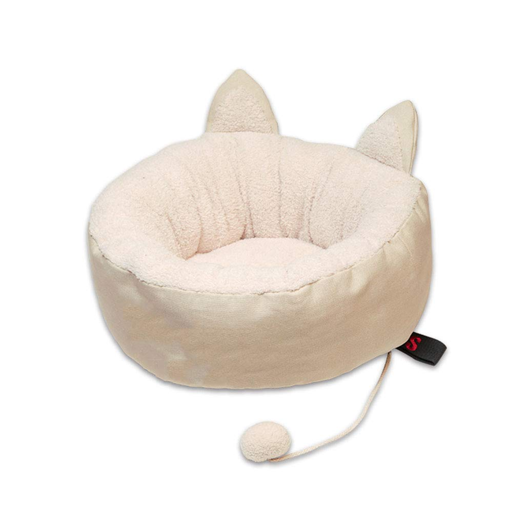 Large Pet Bed Donuts Cat Litter Winter Kennel Supplies Small and Medium (Size   Large)