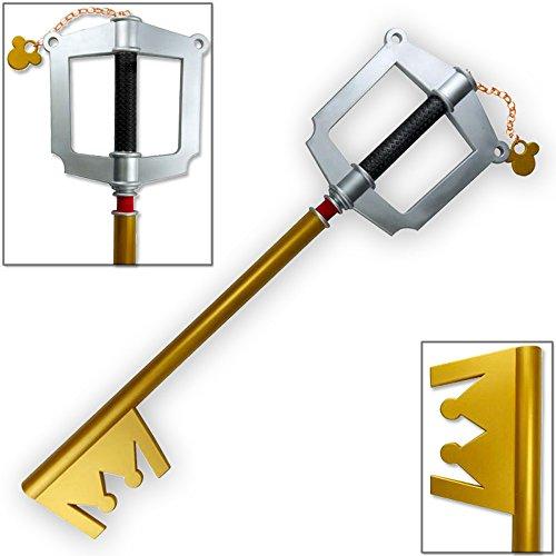Kingdom Key (Kingdom Hearts FOAM Keyblade Dark Side Key D Gold Version Sora D+ Mickey)