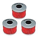 xr250 oil filter - AHL 112 Oil Filter for Honda XR250L XR250 L 250 1991-1999 (Pack of 3)