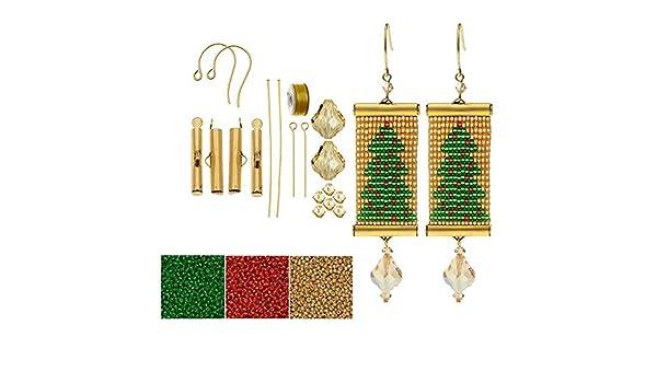 ad3e20911072c Amazon.com: Beadaholique Refill - Loom Statement Earring Kit ...