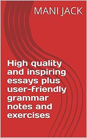 Amazoncom High Quality And Inspiring Essays Plus Userfriendly  Print List Price
