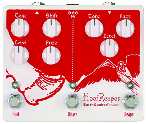 (EarthQuaker Devices Hoof Reaper Double Fuzz Guitar Effects Pedal with Octave Up)