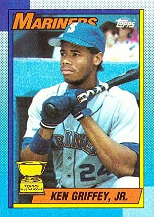 Amazoncom 1990 Topps 336 Ken Griffey Jr Baseball Card