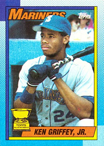 1990 Topps #336 Ken Griffey Jr. Baseball Card - Topps All-Star Rookie