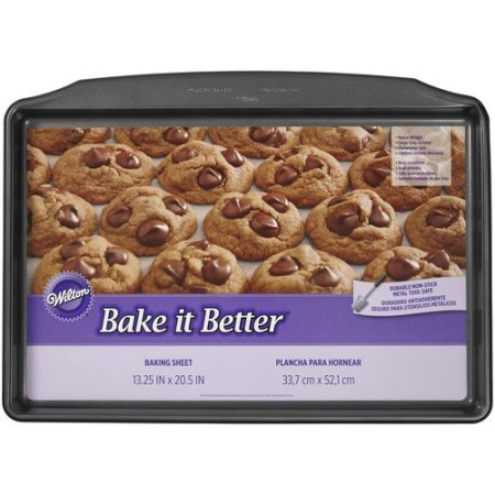 Wilton Bake It Better Giant Cookie Sheet 2105-8824 (Giant Cookie Pan compare prices)