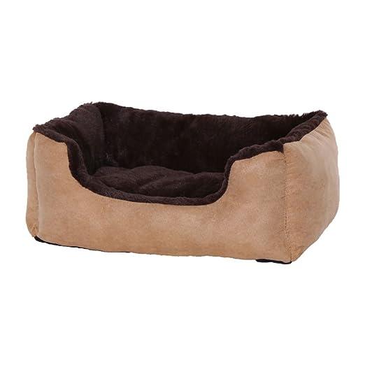 Cama para perros - Perros Cojín - Perros sofá con cojín Reversible tamaño y color a elegir (marrón / beige): Amazon.es: Productos para mascotas